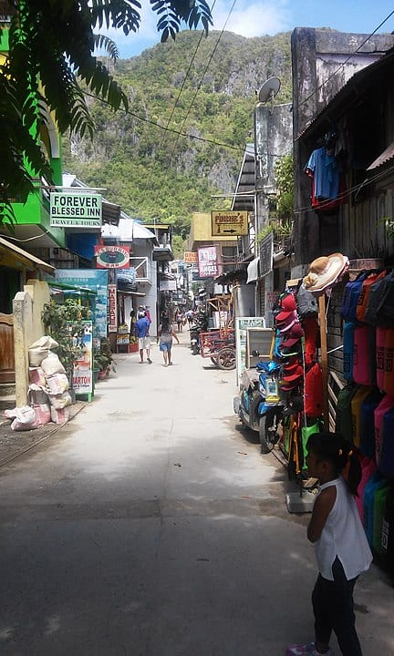 shopping in el nido