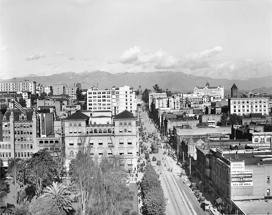history of Los Angeles