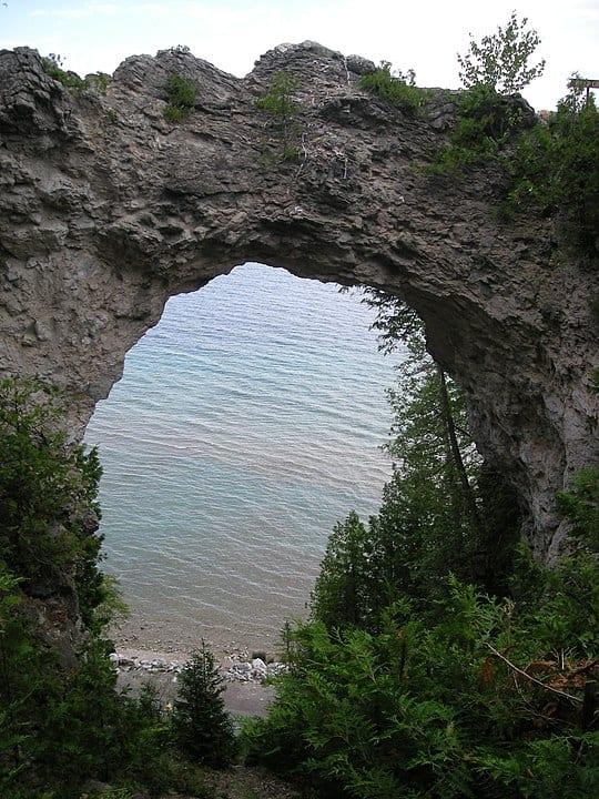 Arch Rock Mackinac