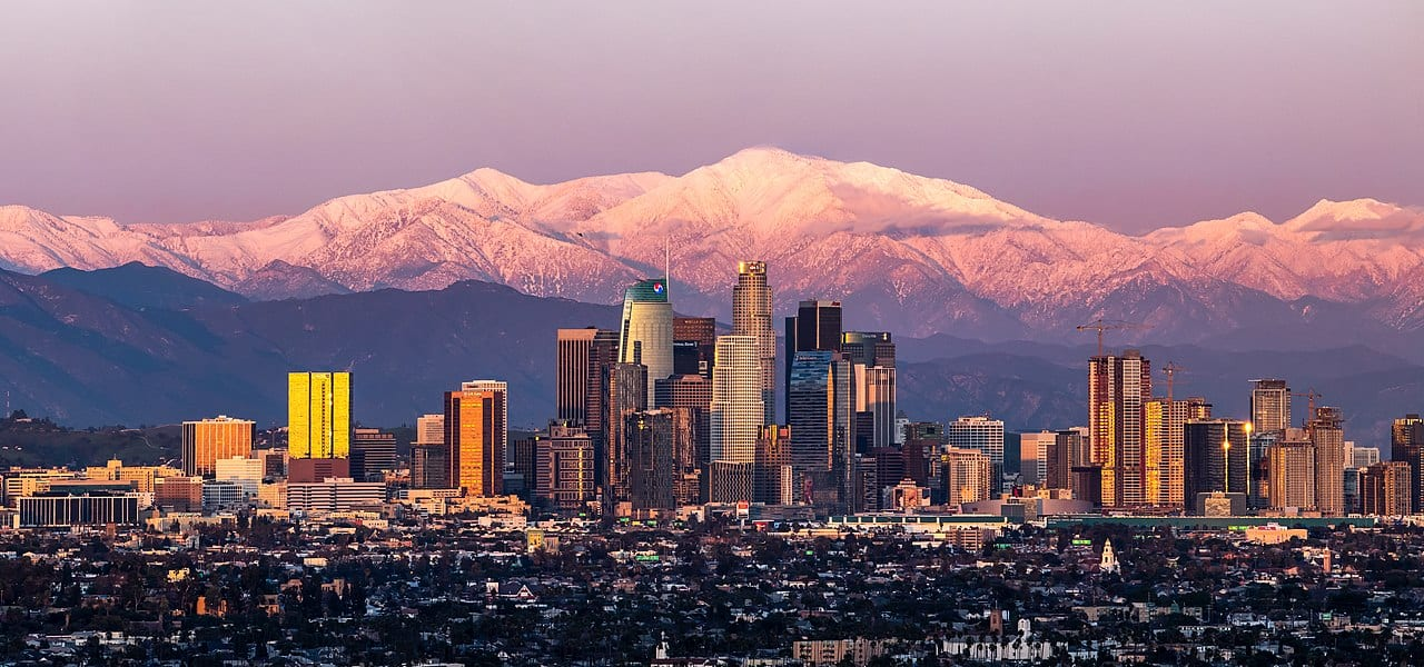 geography of Los Angeles