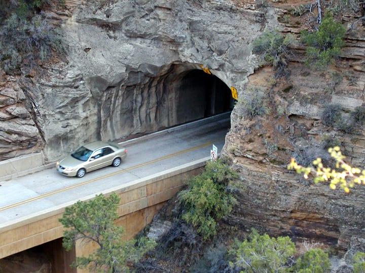 Zion mt carmel highway
