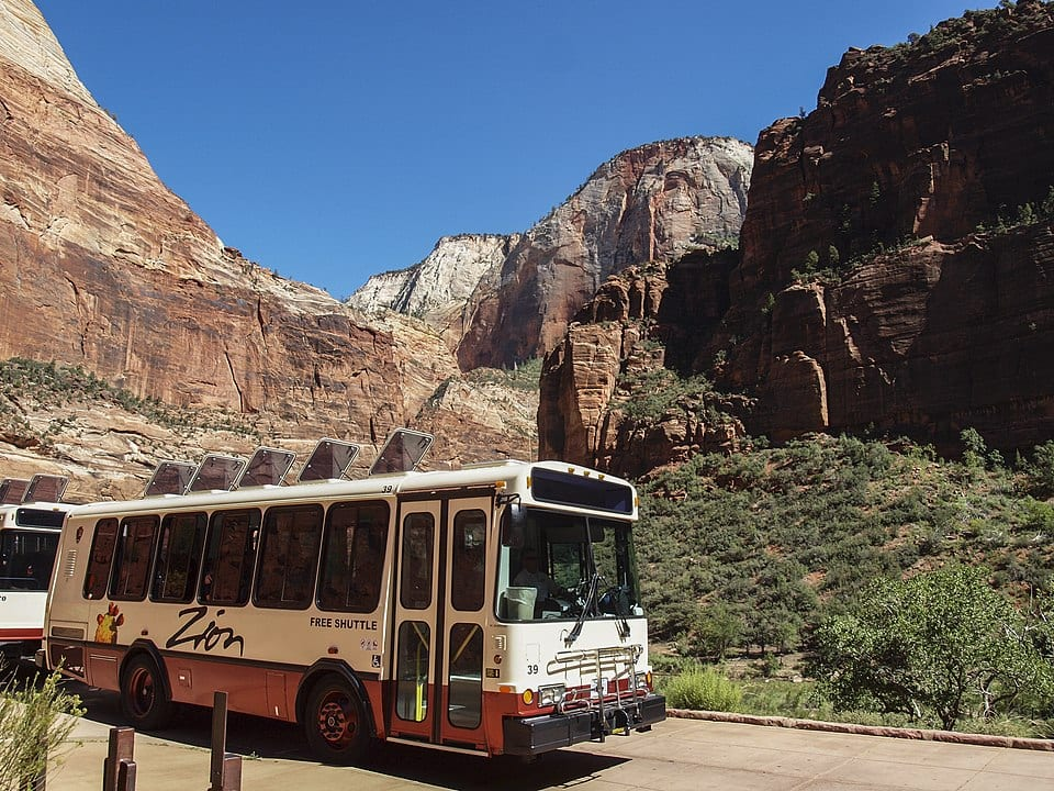 transportation in Zion national park