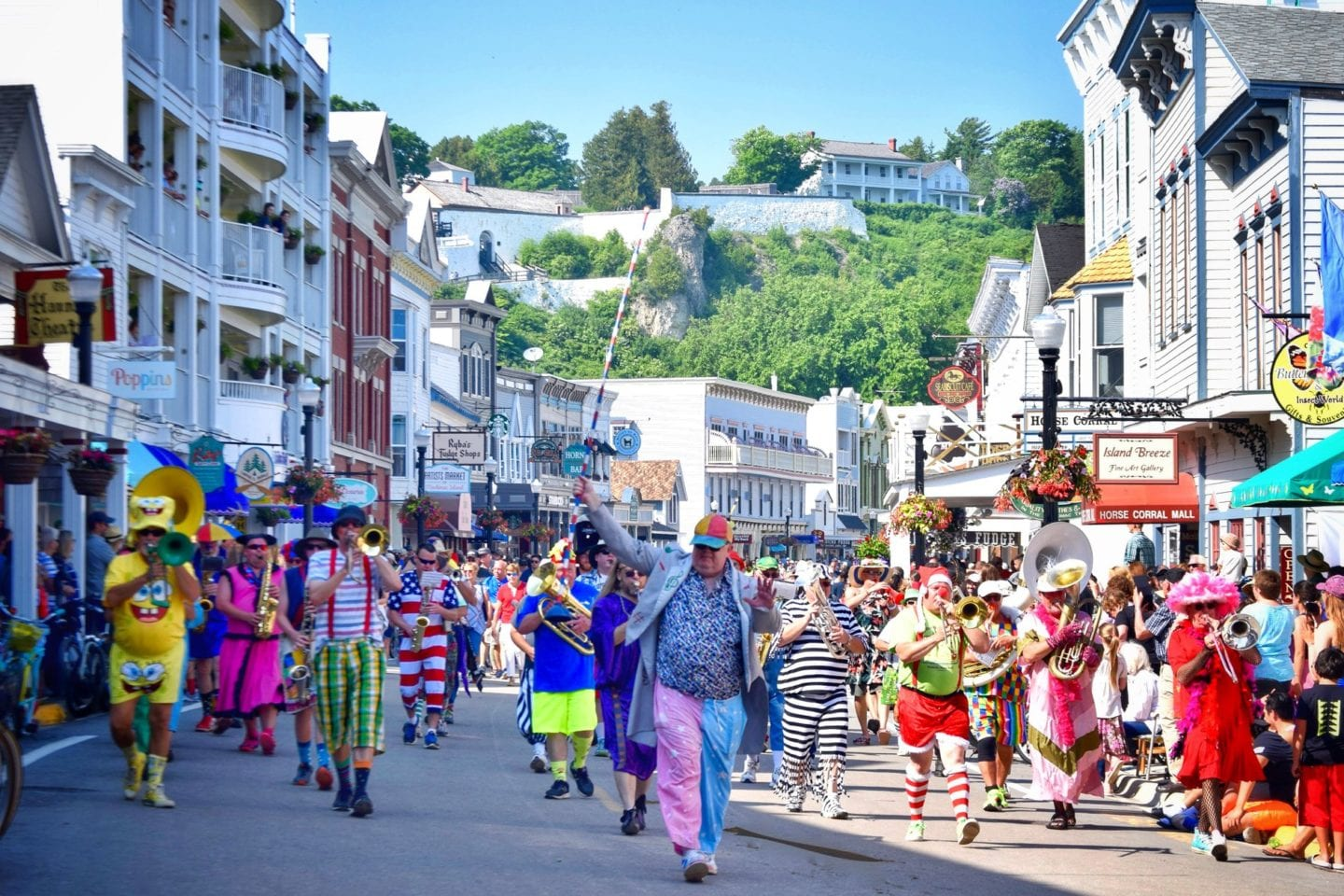 best time to visit Mackinac Island